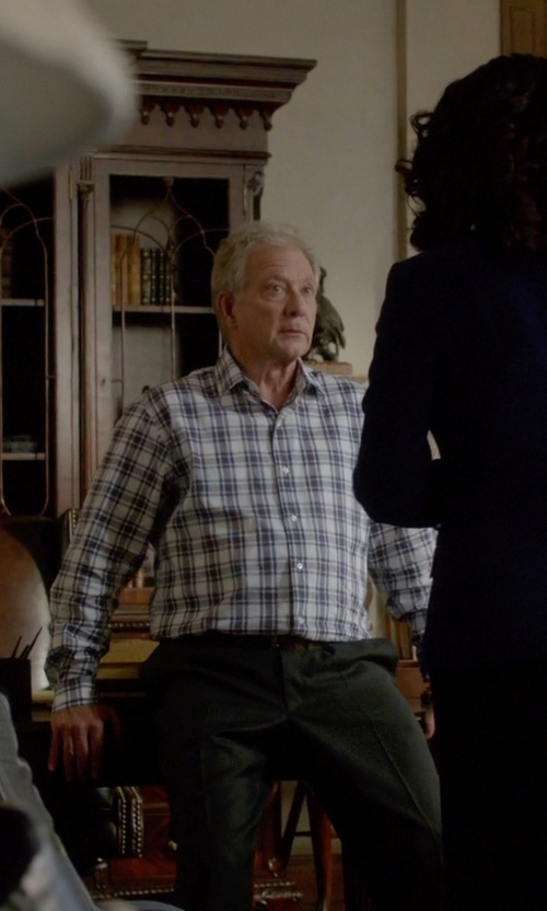 Jeff Perry with Valentino Super 120's Wool Twill Pants in Scandal