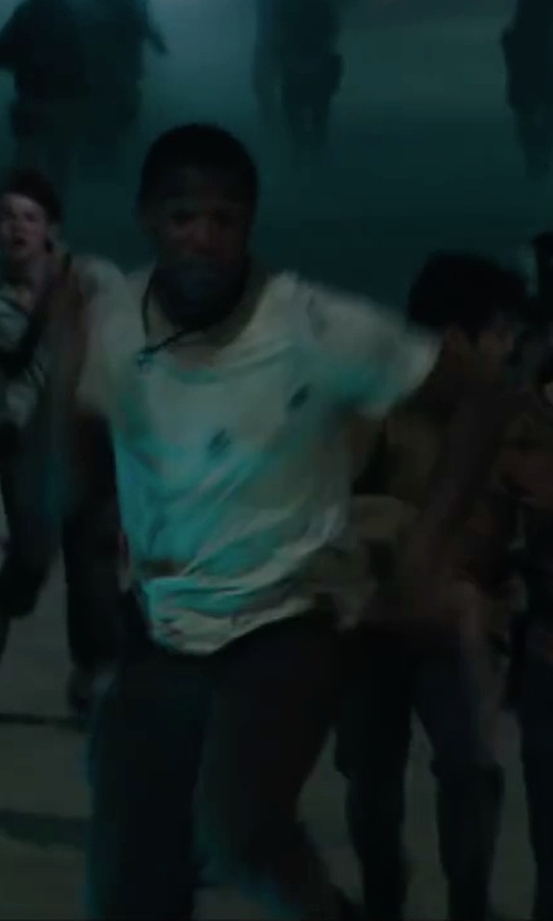 Dexter Darden with RVCA 'Sayo' Twill Shorts in Maze Runner: The Scorch Trials