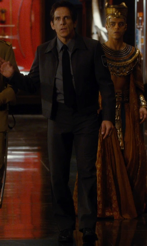 Ben Stiller with Florsheim Gallo Cap Oxford Shoes in Night at the Museum: Secret of the Tomb