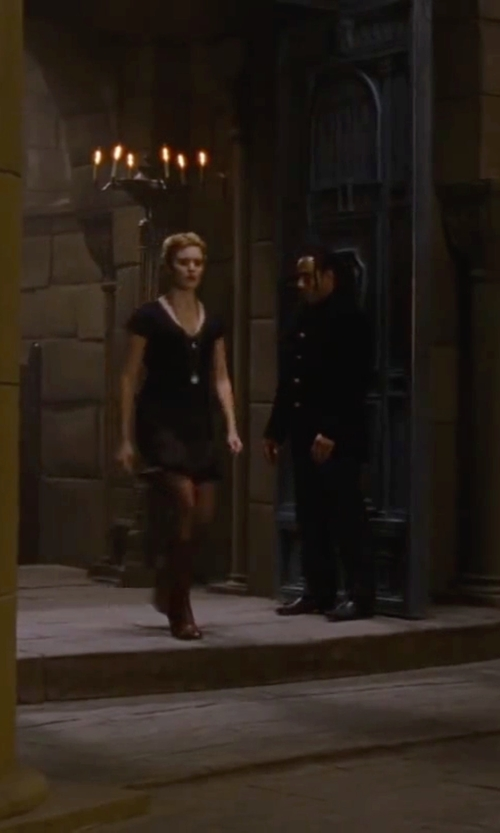 Maggie Grace with Belstaff Trialmaster High Heel Antique Cuero Boots in The Twilight Saga: Breaking Dawn - Part 2