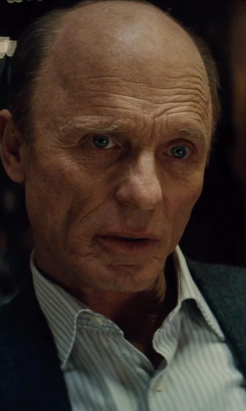 Ed Harris with Thomas Pink Osterley Stripe Classic Fit Double Cuff Shirt in Run All Night