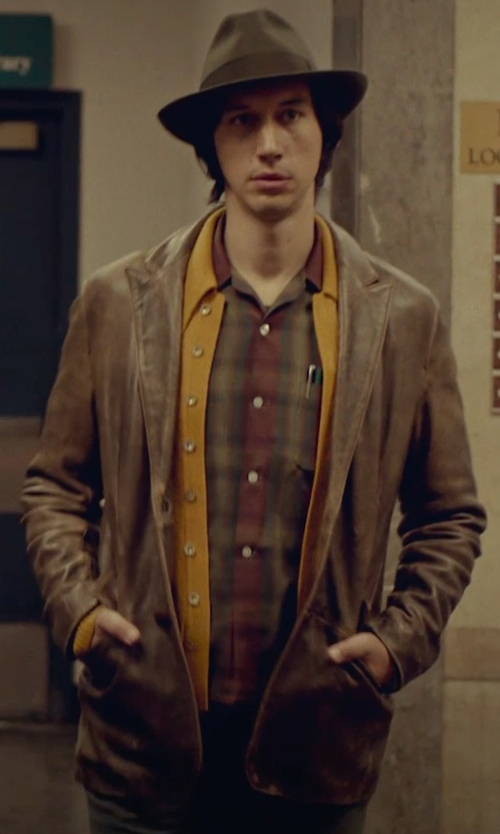 Adam Driver with Lauren by Ralph Lauren Faux-Suede Sport Coat in While We're Young