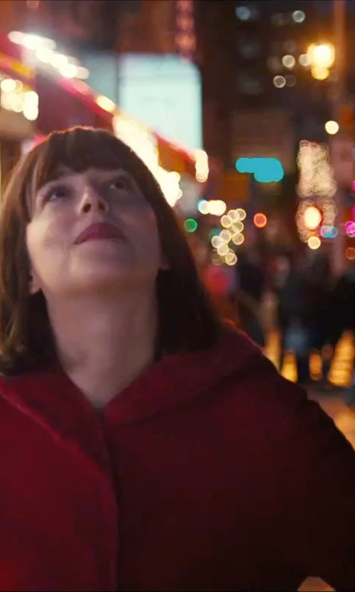 Dakota Johnson with Rag & Bone Single Breasted Coat in How To Be Single