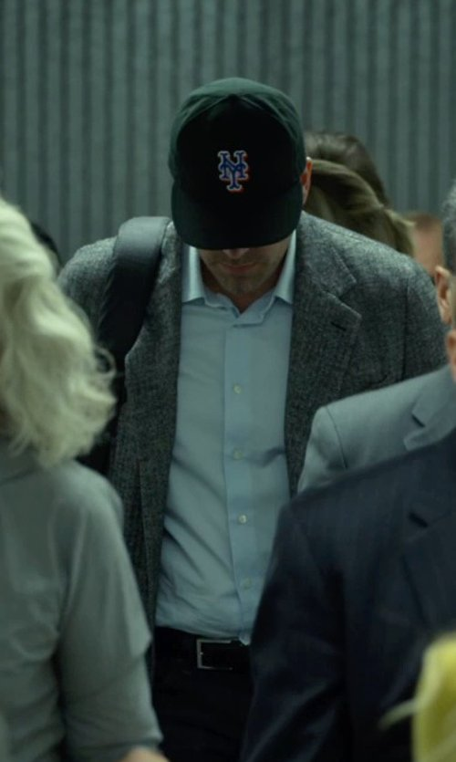 Ben Affleck with Rag & Bone Phillips Unstructured Cotton Blazer in Gone Girl