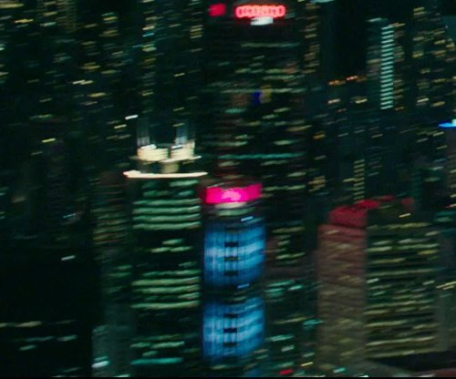Unknown Actor with AIA Tower Hong Kong, China in Blackhat