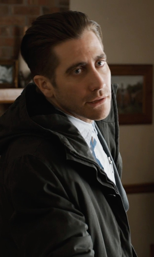 Jake Gyllenhaal with Dunderdon J25 - Coated Canvas Parka Jacket in Prisoners