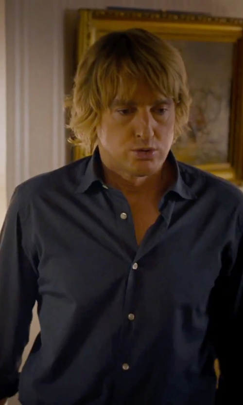 Owen Wilson with Calibrate Trim Fit Dress Shirt in She's Funny That Way