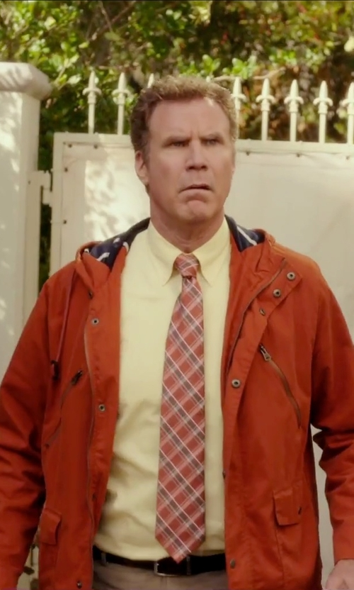 Will Ferrell with Hawke & Co. Outfitter Waterproof Hipster Hooded Jacket in Daddy's Home