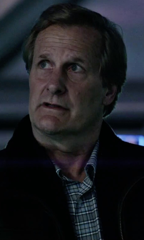 Jeff Daniels with Luigi Borrelli Napoli Button Down Shirt in The Martian
