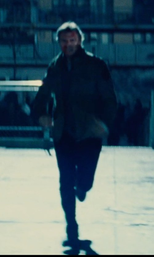 Liam Neeson with To Boot New York Winston Leather Oxford Shoes in Run All Night