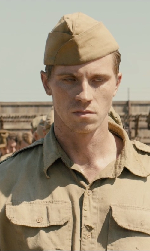 Jai Courtney with Power Costumes World War II Private Adult Costume in Unbroken