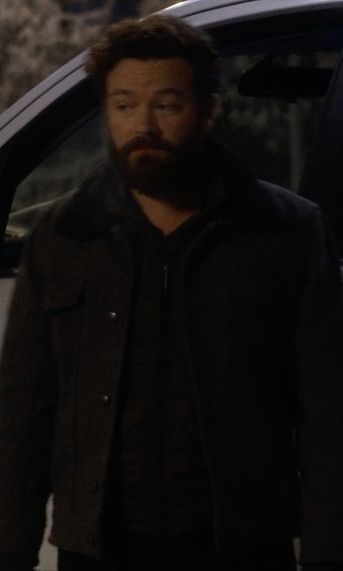 Danny Masterson with PX Clothing Conner Jacket in The Ranch