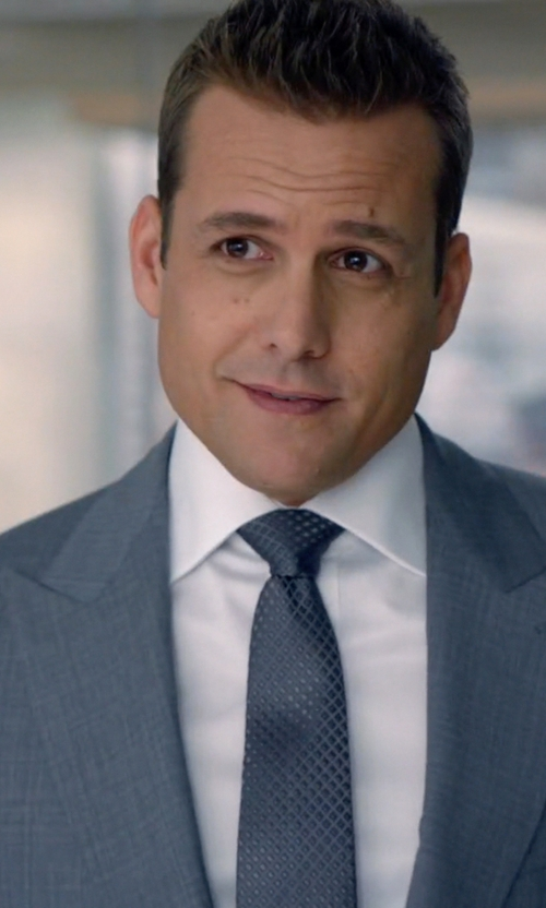 Gabriel Macht with Harry Rosen French Cuff Dress Shirt in Suits