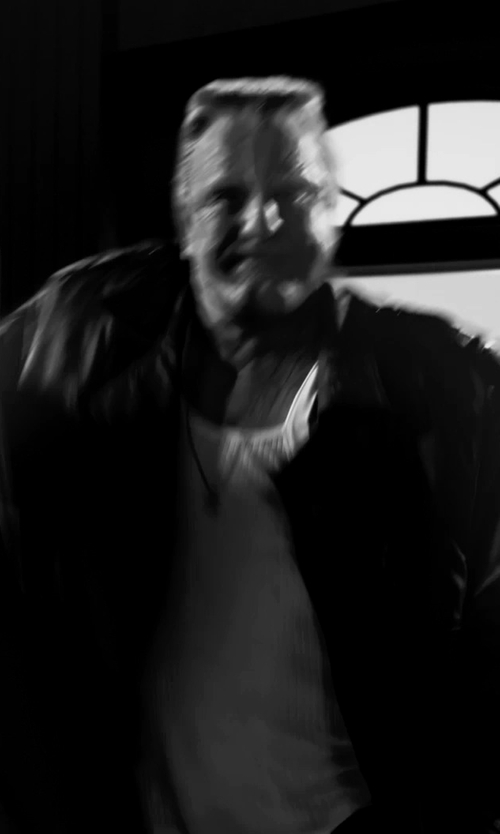 Mickey Rourke with 2(x)ist Mens Form Square Cut Tank Top in Frank Miller's Sin City: A Dame To Kill For