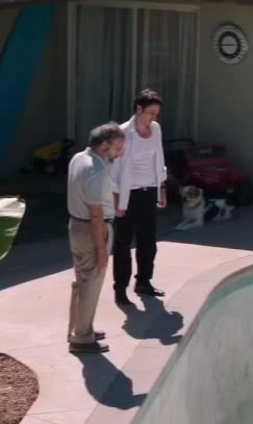 Zach Braff with Reigning Champ Tank Top in Wish I Was Here