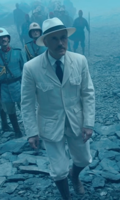 Christoph Waltz with Caterpillar Men's Revolver Pull-On Soft Toe Boot in The Legend of Tarzan