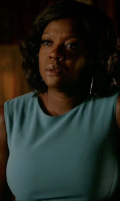 Viola Davis with Max Mara Bartolo Dress in How To Get Away With Murder