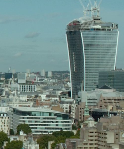 Unknown Actor with 20 Fenchurch Street Building London, United Kingdom in The Gunman