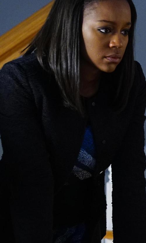 Aja Naomi King with Rag & Bone Waverly Blazer in How To Get Away With Murder