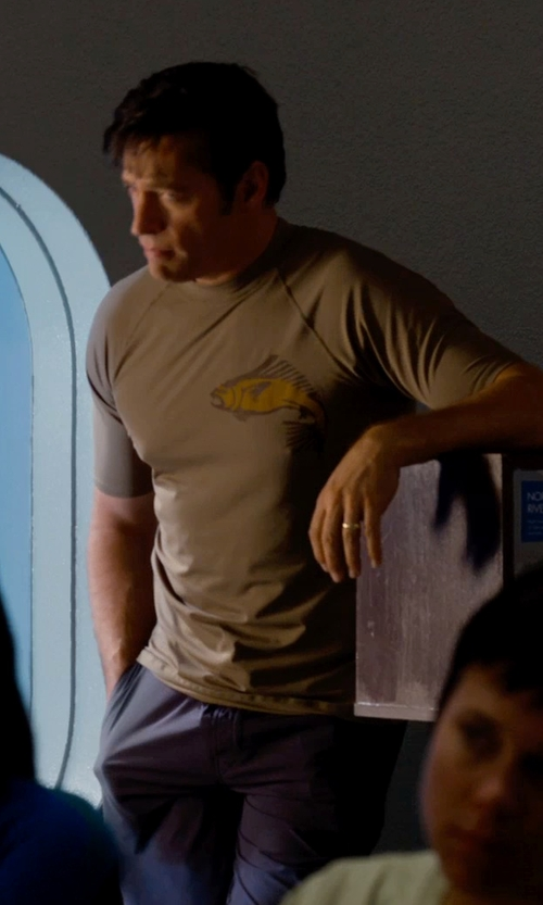 Harry Connick Jr. with Apolis Civilian Chino Pants in Dolphin Tale 2