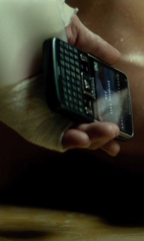 Jasmine Trinca with Samsung C6625 Qwerty Mobile Phone in The Gunman
