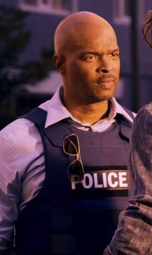 Damon Wayans with Ray-Ban Caravan Sunglasses in Lethal Weapon