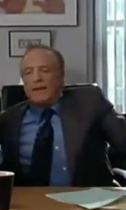 James Caan with Thomas Pink Saladin Texture Double Cuff Shirt in Elf