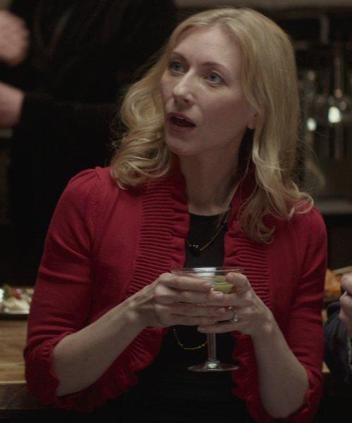 Tina Benko with Barneys New York Martini Glass in That Awkward Moment