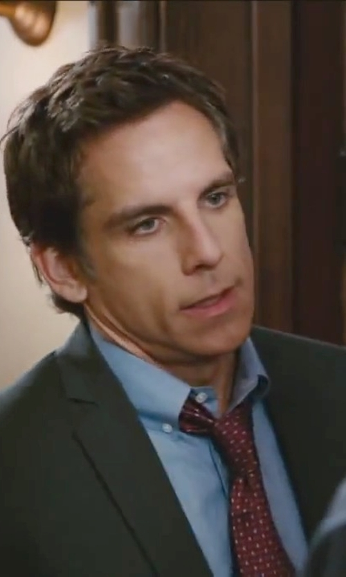 Ben Stiller with Drake's Silk Grenadine Necktie in Little Fockers