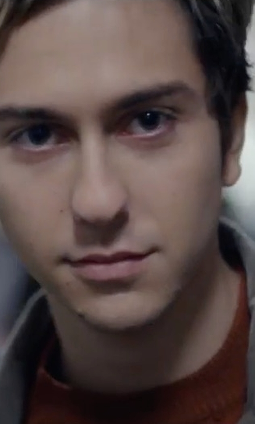 Nat Wolff with imon Miller Alameda T-Shirt in Death Note