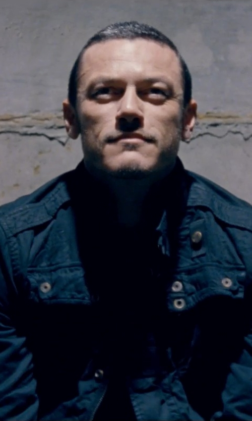 Luke Evans with G Star RAW Recolite Overshirt Long Sleeve Jacket in Fast & Furious 6