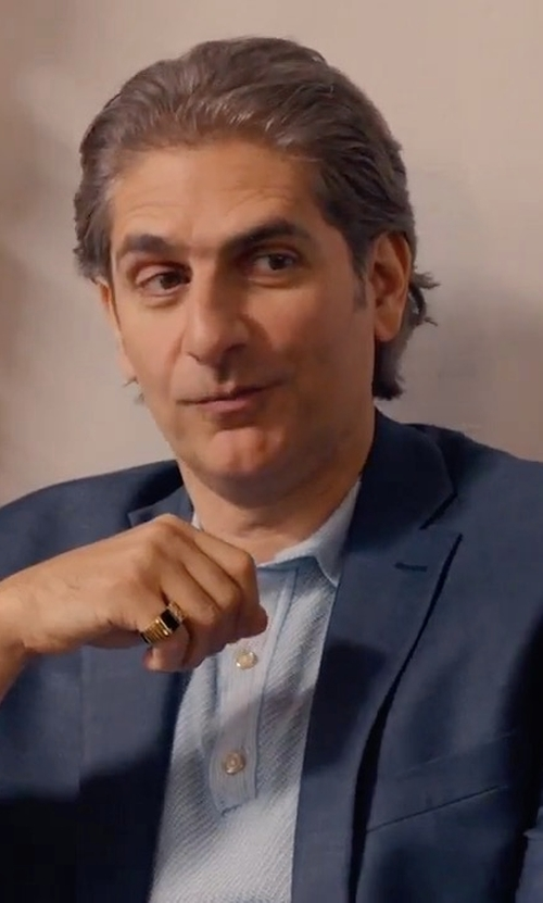 Michael Imperioli with Theory Wellar Camley Slim Wool Suit Jacket in Alex, Inc.