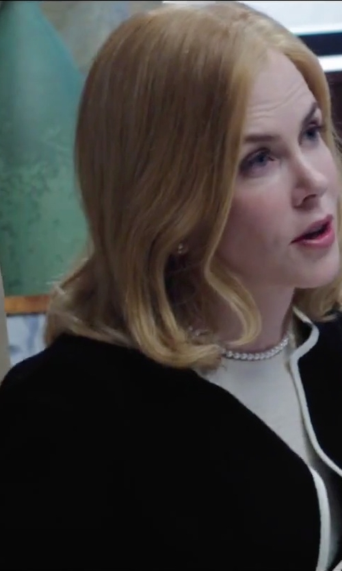 Nicole Kidman with Elizabeth and James Linen Blazer in Secret in Their Eyes