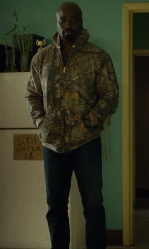 Mike Colter with Citizens Of Humanity Holden Jeans in Marvel's Luke Cage