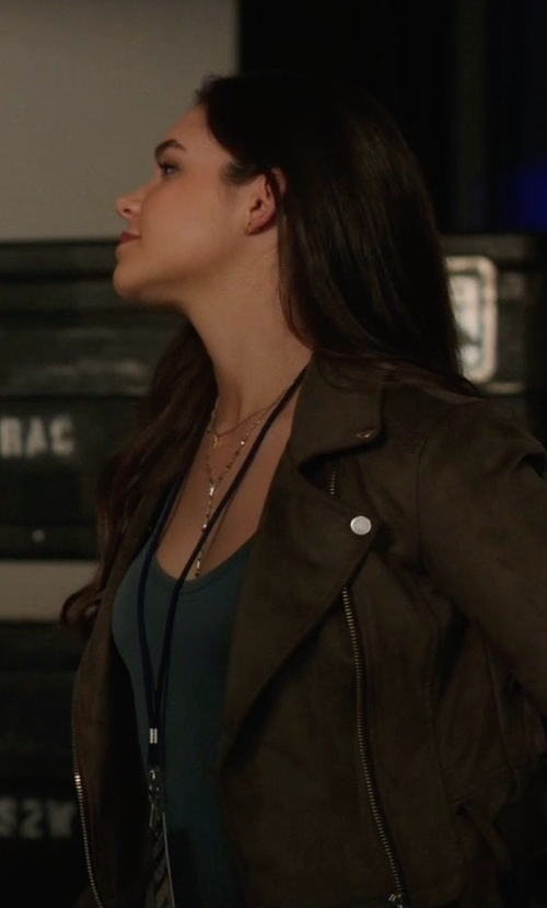 Madison McLaughlin with Talula Morton Jacket in Arrow