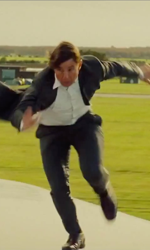 Tom Cruise with Burberry Formal Tux Shirt in Mission: Impossible - Rogue Nation