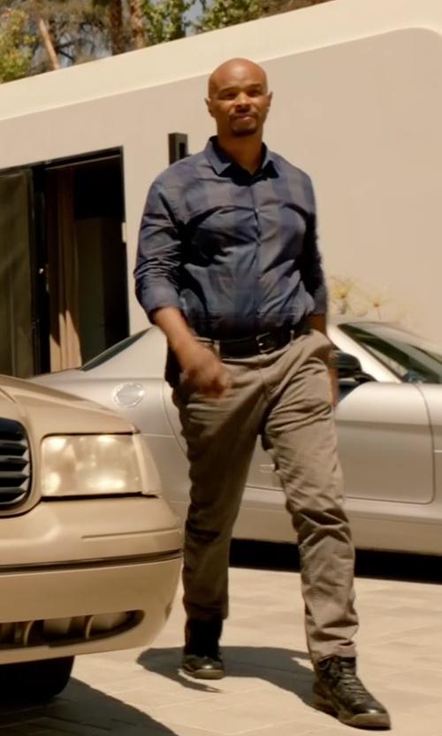 Damon Wayans with Diesel Tatradium S Boulevard Hi Top Sneakers in Lethal Weapon