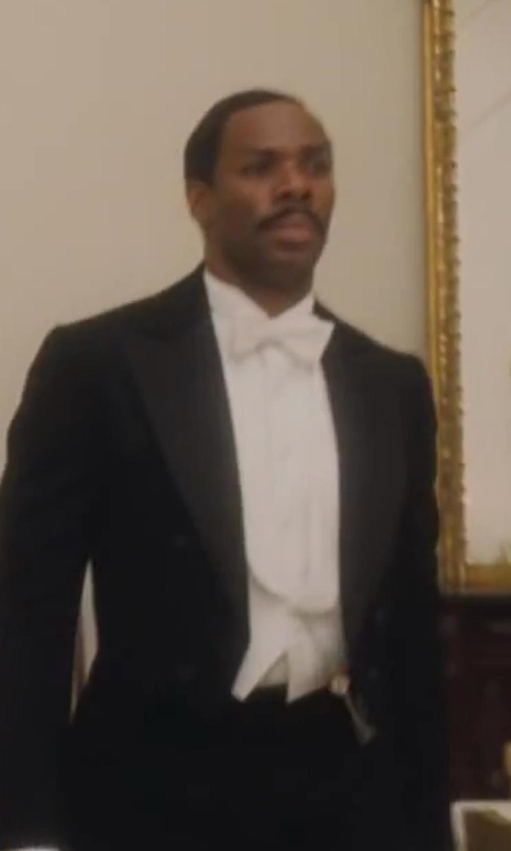Colman Domingo with Theory Slyvain Solid Dress Shirt in Lee Daniels' The Butler