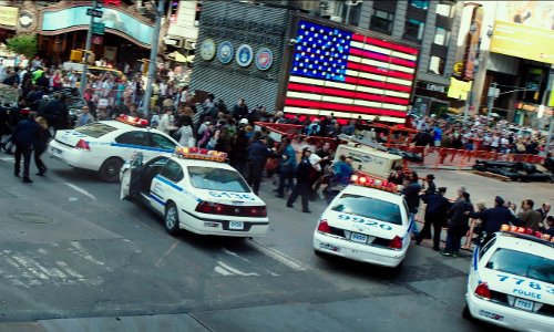 Times Square New York City, New York in Teenage Mutant Ninja Turtles (2014)