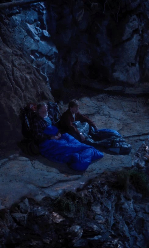 Robert Redford with The North Face Furnace 20 Sleeping Bag in A Walk in the Woods