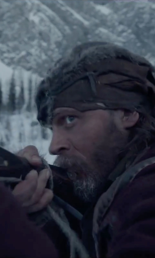 Tom Hardy with Menlook Label Shawn Coat in The Revenant
