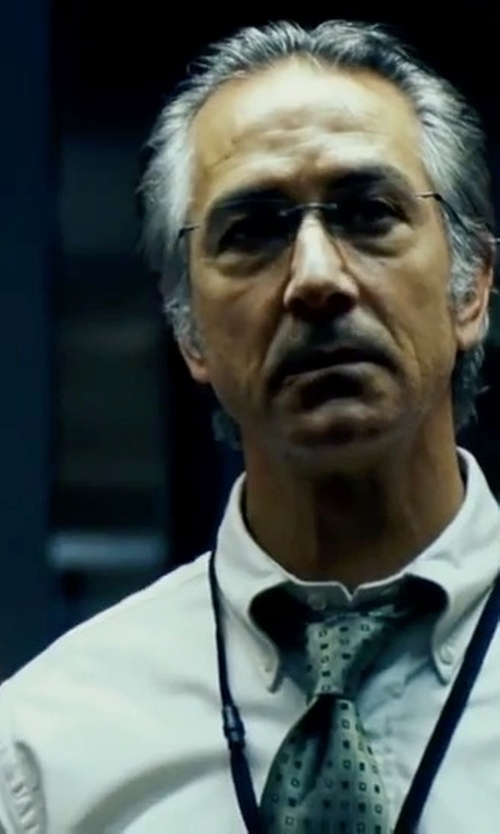 David Strathairn with Polo Ralph Lauren Slim-Fit Cotton Oxford Shirt in The Bourne Ultimatum
