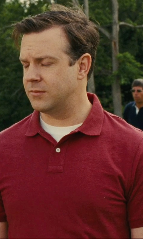 Jason Sudeikis with Marc By Marc Jacobs Logo Polo Shirt in Hall Pass