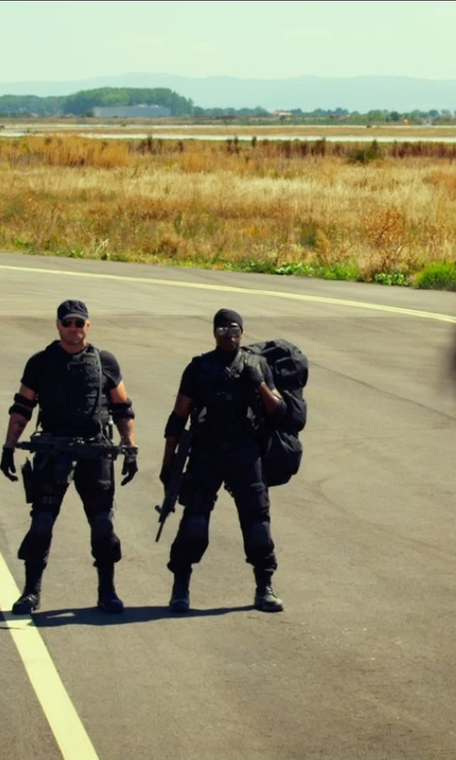 Wesley Snipes with Galls Tactical Carrier in The Expendables 3