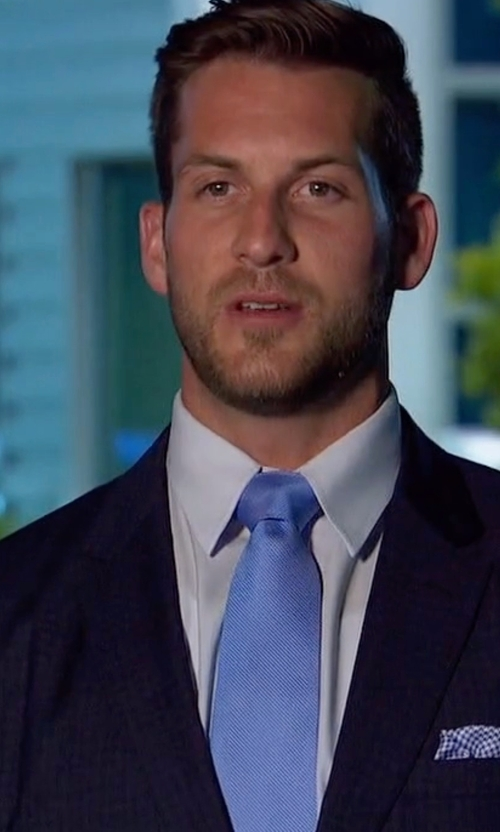 Chase with Boss Hugo Boss Solid Two-Piece Wool Travel Suit in The Bachelorette