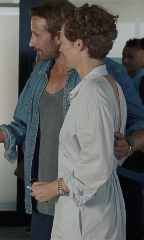 Matthias Schoenaerts with Marville Denim Shirt in A Bigger Splash