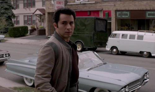 No Actor with CADILLAC 1962 series 62 Convertible in Jersey Boys