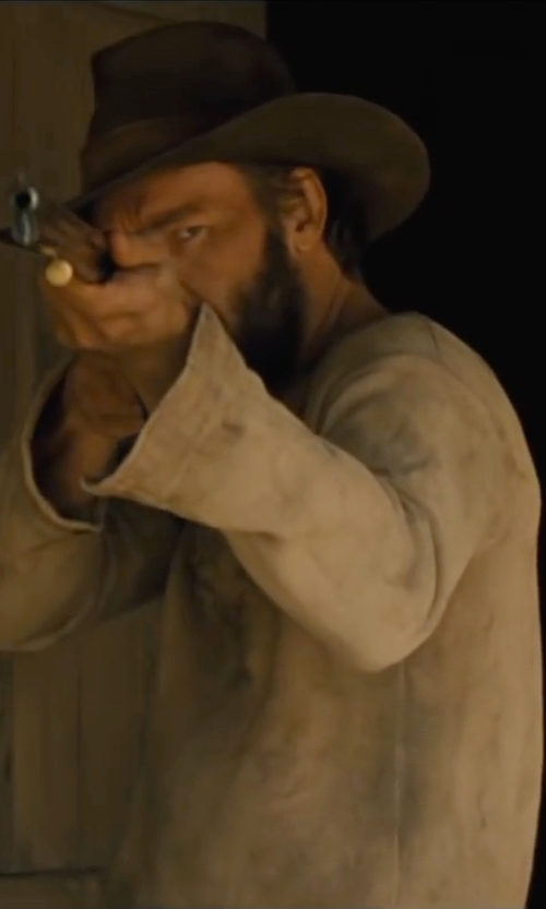 Joel Edgerton with Authentic Original Vintage Style Long Sleeve T-Shirt in Jane Got A Gun