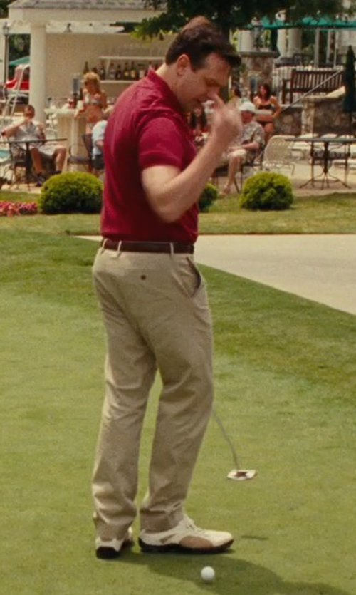 Jason Sudeikis with Ecco Golf Tour Hybrid Wingtip Shoes in Hall Pass