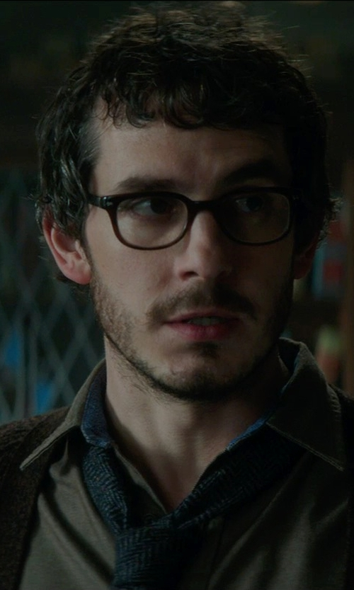 Tate Ellington with Spy Optic Zander Eyeglasses in Sinister 2